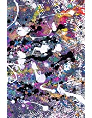 Notebook: Lined Notebook Journal - Multicolour Abstract Art - College Ruled 110 pages - Medium (6 x 9 inches)