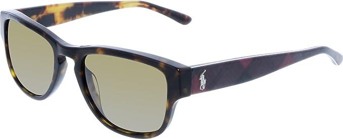 Polo Ralph Lauren PH4086, Gafas de Sol para Hombre, Marrón (Dark Havana 551983