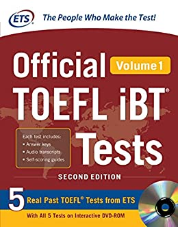 Amazon official toefl ibt tests volume 1 2nd edition ebook official toefl ibt tests volume 1 2nd edition ebook by mcgraw fandeluxe Choice Image