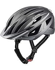 ALPINA HAGA fietshelm voor volwassenen, donkerzilver mat, 58-63 cm