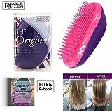 Tangle Teezer Salon Elite Hair Brush, Purple Crush | Professional Wet & Dry Detangling Hairbrush
