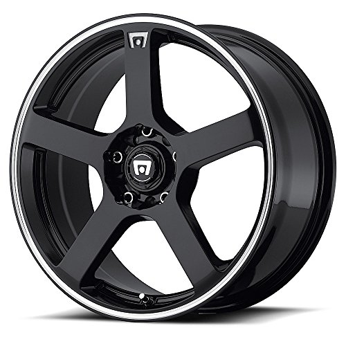 95 Toyota Mr2 Racing (Motegi Racing MR116 Gloss Black Wheel With Machined Flange (17x7