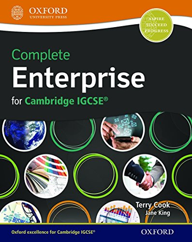 Complete Enterprise for Cambridge IGCSERG (CIE IGCSE Complete Series)