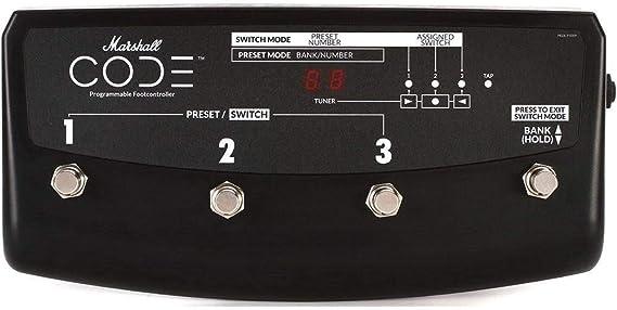 Marshall CODE Stompware Guitar Amp Footcontroller