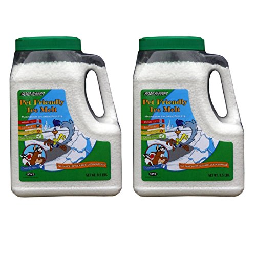 Kosher Mini Mints (Road Runner Pet Friendly Ice Melt Jug - 2 Pack: 9.5 lb Jugs)