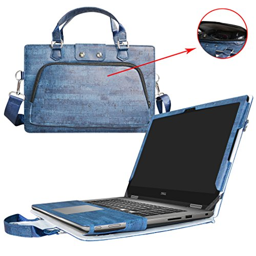 5579 i5578 i5568 Case,2 in 1 Accurately Designed Protective PU Leather Cover + Portable Carrying Bag For 15.6