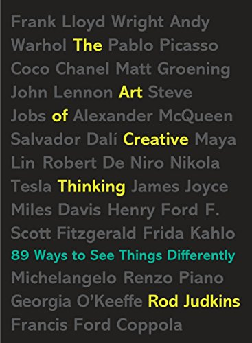 The Art of Creative Thinking: 89 Ways to See Things - Ways Creative