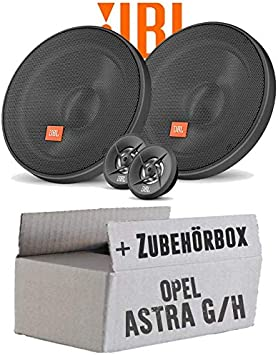 Jbl Stage 600ce 2 Wege 16cm Lautsprecher System Einbauset Für Opel Astra G H Just Sound Best Choice For Caraudio Navigation