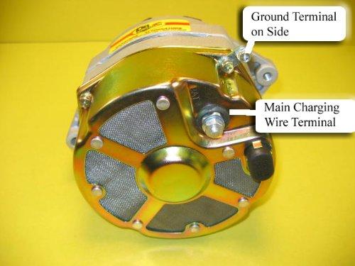 Amazon.com: NEW 105 Amp Delco Marine Alternator Mercruiser 1-Wire ...
