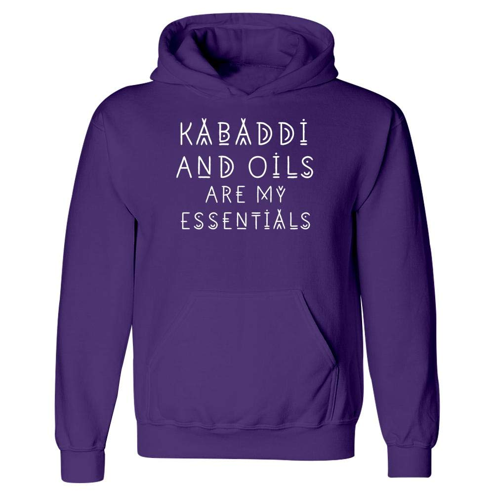 Kabaddi Lover and Oils are My Essentials Hoodie