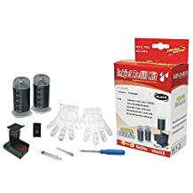 Cartridge refill kit for Canon PG-240 240XL Pigment Black ink cartridges