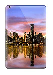 [EDWqbtA311gPbRw]premium Phone Case For Ipad Mini/mini 2/ Manhattan Sunset Tpu Case Cover