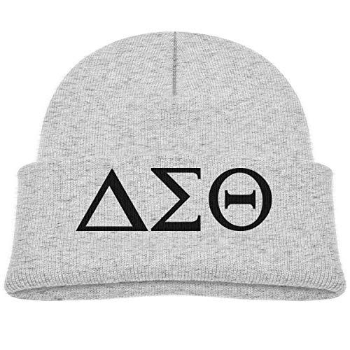 Delta-Sigma-Theta Beanie Cap Knit Hats Infant Gray