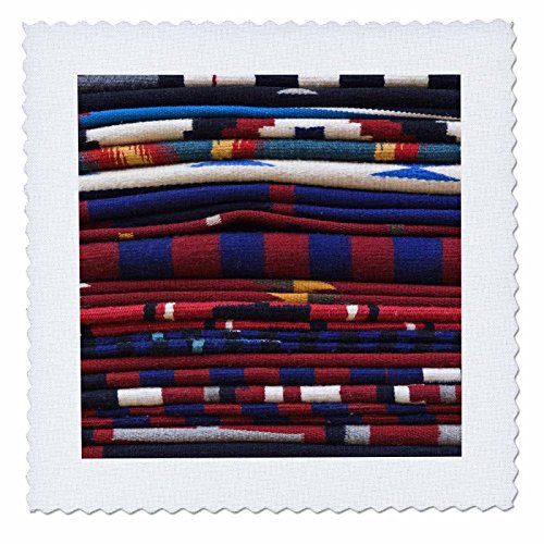 3dRose qs_92948_7 New Mexico, Gallup, Handmade Navajo Rugs, Textile-US32 RTI0048-Rob Tilley-Quilt Square, 18 by 18-Inch