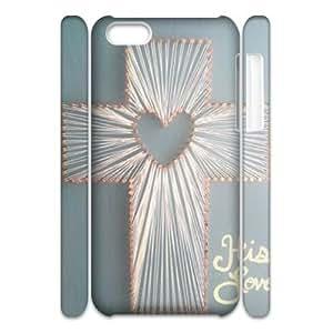 Cross CUSTOM 3D Cell Phone Case for iPhone 5C LMc-54172 at LaiMc