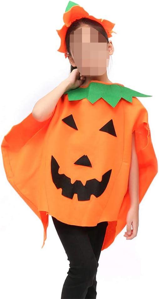 De.WA Disfraz de Halloween Traje de Calabaza de Fruta Niños COS ...