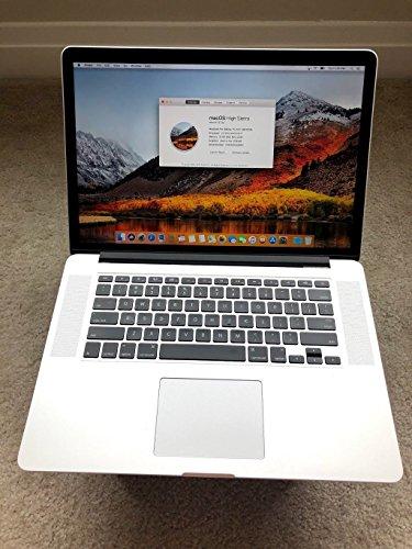 Apple MacBook Pro 15.4-Inch Laptop Intel QuadCore i7 2.3GHz / 16GB DDR3 Memory / 1TB SSHD (Solid State Hybrid) Drive / 1.5GB Video Memory / OS X 10.10 Yosemite / ThunderBolt / USB 3.0 / DVD Burner