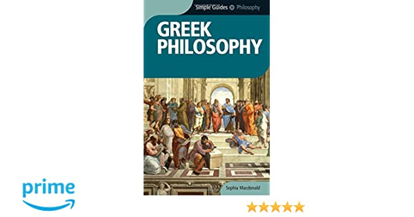 Downloads Simple Guides Greek Philosophy book