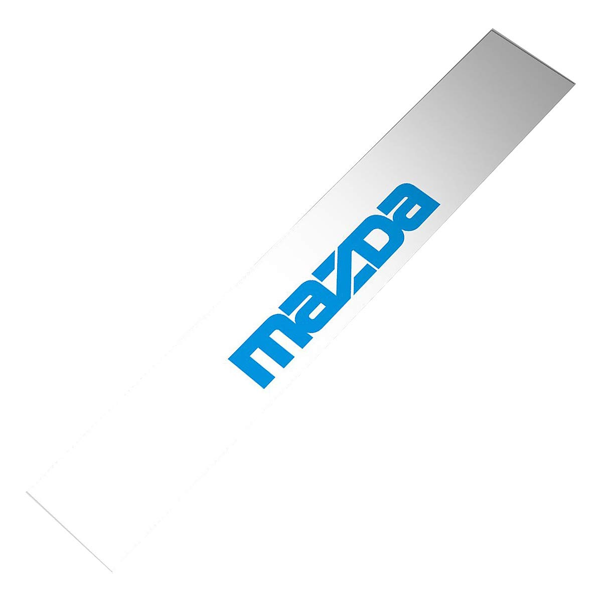 Demupai Mazda Front Windshield Banner Decal Fits Mazda Cars 51.97 X 8.27 Blue Letter + White Background