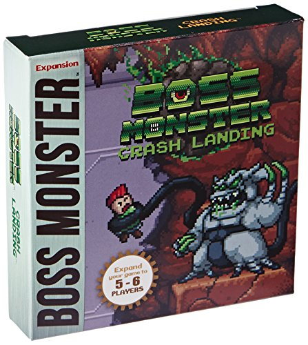 Boss Monster Crash Landing Board Game