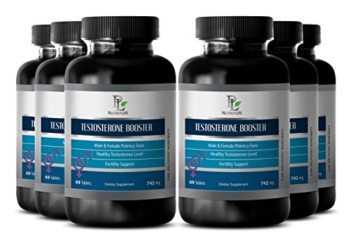 Sexual enhancement for men - NATURAL TESTOSTERONE BOOSTER 742 Mg - Sexual energy for men - 6 Bottles 414 tablets by PL NUTRITION (Image #7)