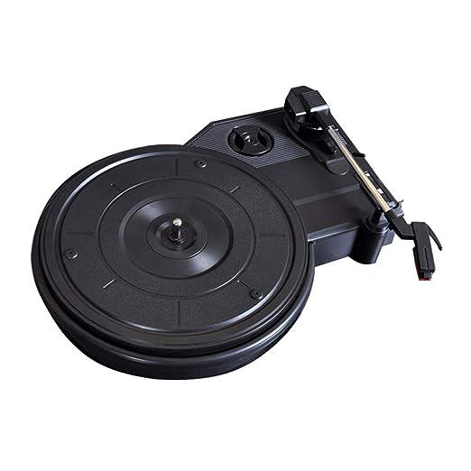 HYLH Reproductor de Discos de Vinilo, Soporte pequeño para ...