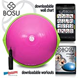 Bosu Balance Trainer, 65cm The Original - Pink/Lime Green
