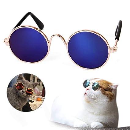 AUOKER Gafas de Sol para Perro, Bonitas y Divertidas Gatos ...