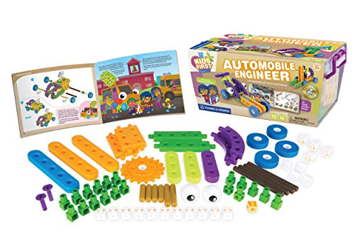 Kids First Automobile Engineer Kit   STEM   32 Page Full-Color Illustrated Storybook   Ages 3+   Preschoolers and…