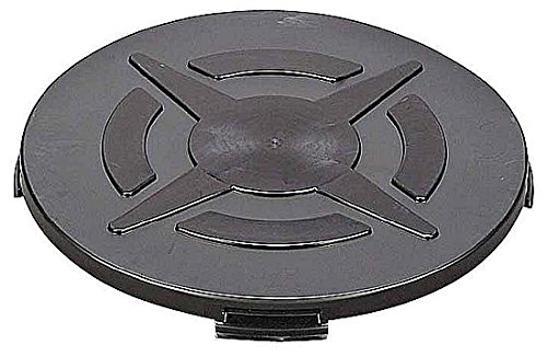 DIC(ディック) クローズドラム缶用カバー DC-1 外寸:605x55 黒 DC-1-BK