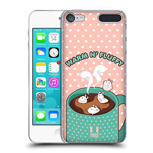 Head Case Designs Warm N' Fluffy Chubby Bunny Hard Back Case Compatible for Touch 6th Gen/Touch 7th Gen (Bunny Case Ipod 4)