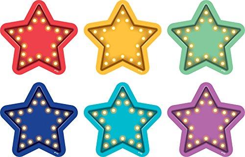 Teacher Created Resources Marquee Stars Spot On Vinyl Floor (Floor Markers)