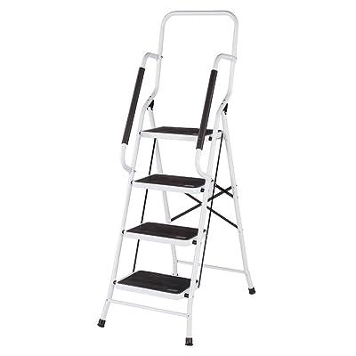LivingSURE Folding 4-Step Safety Ladder