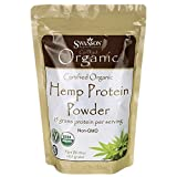 Swanson Certified Organic Hemp Protein 15 Ounce (425 g) Pwdr