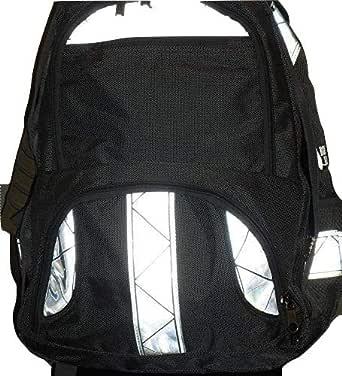 Amazon.com: Reflective Backpack - Black: Clothing