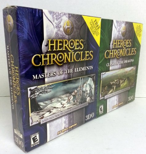 Heroes Chronicles: Clash of the Dragons & Masters of the Elements - Twin Pack 95