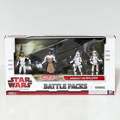 Star Wars The Clone Wars Battle Packs Assault on Ryloth