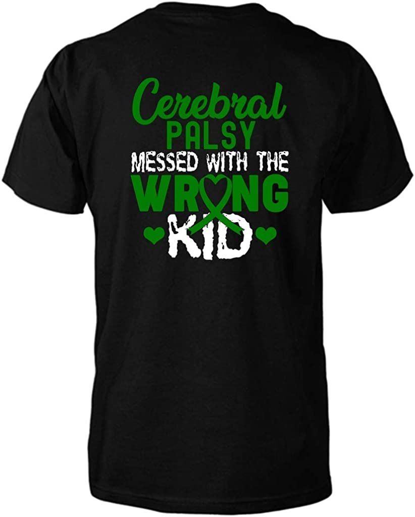 Tacotaco Cerebral Palsy Messed with The Wrong Kid T-Shirt