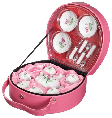 (Toysmith 17-Piece Li'l Tea Tote Set)