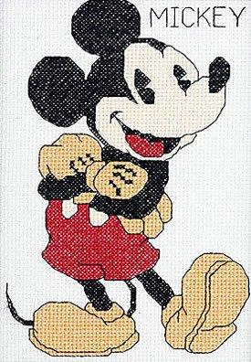 Janlynn Mickey Mouse Cntd X-Stitch Kit (Cross Kit Cntd Stitch)