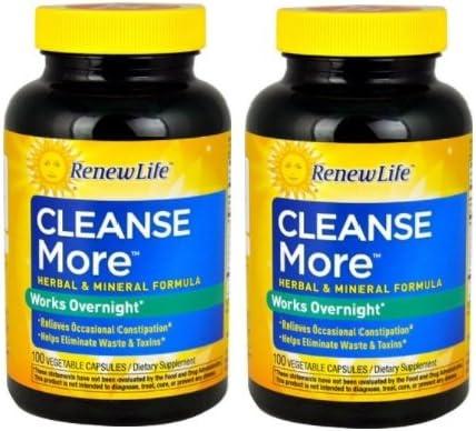 Renew Life Cleanse More Veggie