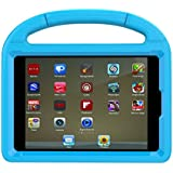 Apple iPad Mini 4 Case, iPad Mini 4 Covers for Kids - Lmaytech Light Weight Portable Shockproof Super Protection Handle Stand Cover for iPad Mini 4 (Mini-4, Blue)