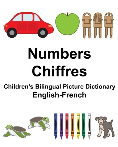 English-French Numbers/Chiffres Children's Bilingual Picture Dictionary (FreeBilingualBooks.com)