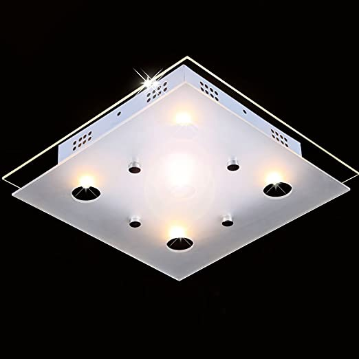 Awesome 15W LED Deckenleuchte Wandleuchte Badlampe Badleuchte Decken Lampe  Deckenlampe, Modell Candor: Amazon.de: Beleuchtung