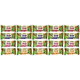 Mrs. May's Trio Bar Variety Pack - Blueberry, Cranberry, Strawberry & Tropical, LARGER 1.7-oz Bars (Pack of 20)