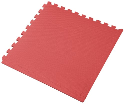 We Sell Mats Interlocking Anti-Fatigue EVA Foam Floor Mat, Red