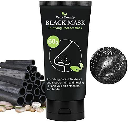 Blackhead Remover Black Mask Purifying Peel-off Mask Deep Cleansing by Vena Beauty 60g
