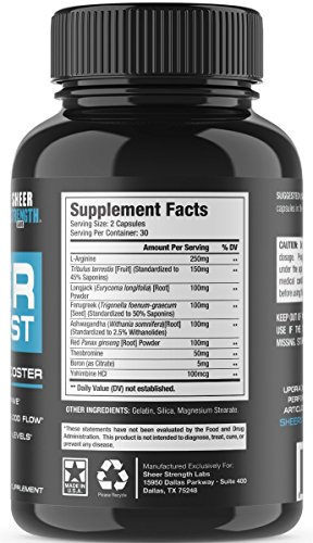 Insta Supplement Magazine: Extra Strength Testosterone Booster For Men