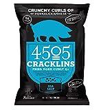4505 Sea Salt Cracklins, All-Natural Fried Pork
