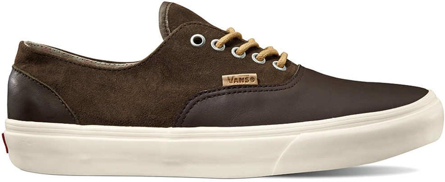 Vans - Zapatillas de Piel para Hombre, Color marrón, Talla 11.0 ...